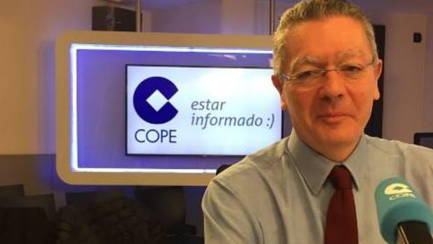 El exministro de Justicia, Alberto Ruiz-Gallardón