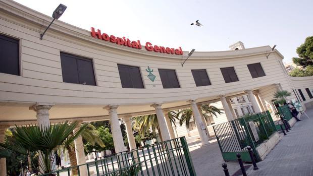Imagen de archivo del Hospital General de Valencia