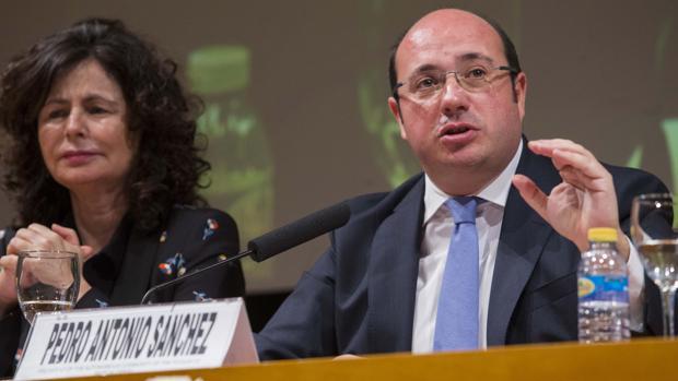 Pedro Antonio Sánchez, presidente de la región de Murcia