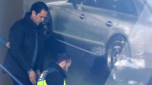 Imagen del presunto asesino, Miguel López, el día de su detención