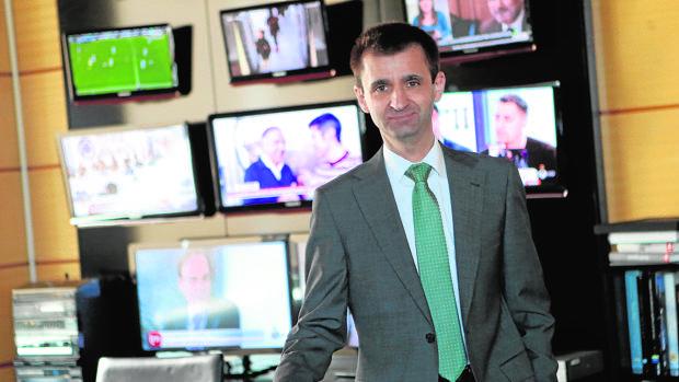 El nuevo director general de Telemadrid, José Pablo López Sánchez, posa para ABC