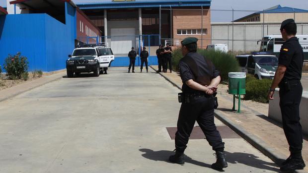 Los hechos ocurrieron en una celda de la prisión zaragozana de Zuera (en la imagen)
