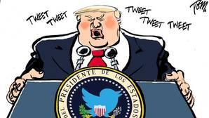 El Salón del Cómic acogerá una exposición de retratos satíricos de Donald Trump