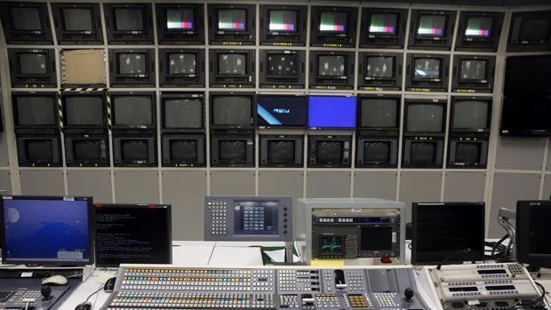 Imagen de los equipos en la sede de RTVV