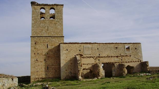 Ruinas de la antigua iglesia de Jumela, datada en el siglo XIV
