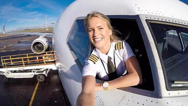 María Fagerström este martes desde el Aeropuerto de Newcatle, Reino Unido