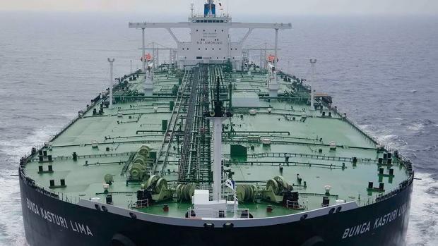 El petrolero Bunga Kasturi Lima