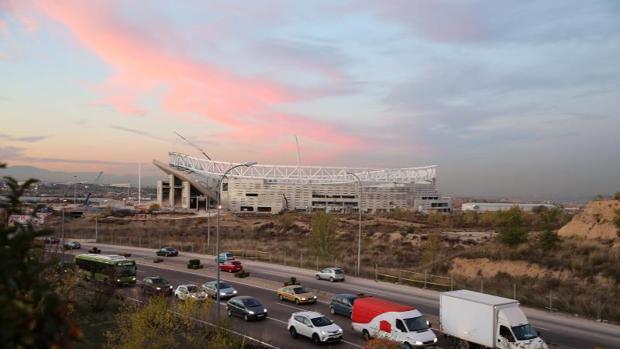 El nuevo estadio del Atlético de Madrid, en San Blas