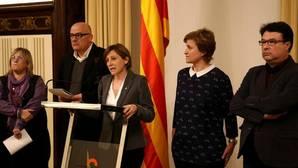 La Fiscalía de Cataluña presenta una nueva querella contra Forcadell y el vicepresidente del Parlament