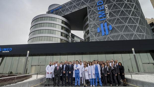 Imagen del nuevo hospital IMED de Valencia