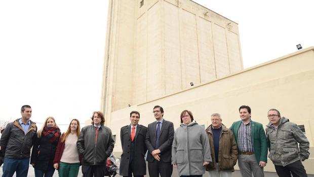 El presidente de la Diputación de Ciudad Real, José Manuel Caballero, ha estado en la inauguración acompañando al alcalde de Almagro