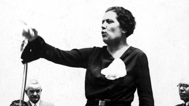 Victoria Kent en una imagen de 1935