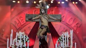 El público canario opta por la provocación en la Gala Drag Queen del Carnaval de Las Palmas