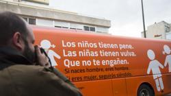 Autobús «antitransexualidad» de Hazte Oír