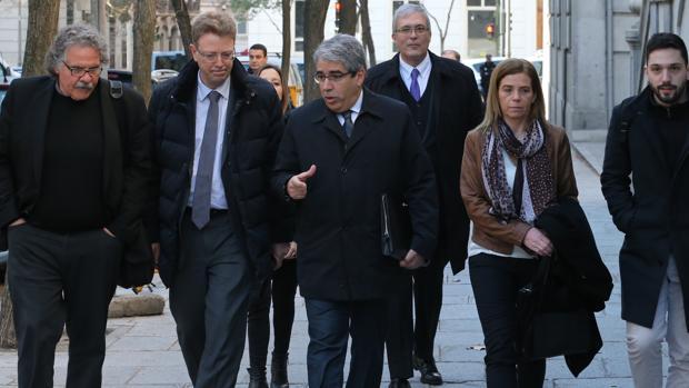 Homs llega al Tribunal Supremo