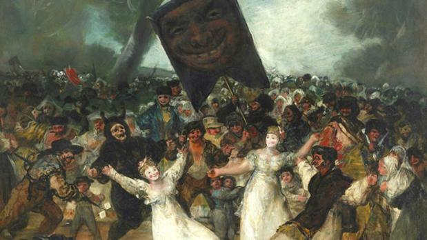 La obra de Francisco de Goya que representa el entierro de la Sardina