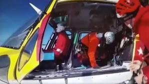 El espectacular rescate del GERA a 70 niños en la Sierra de Guadarrama