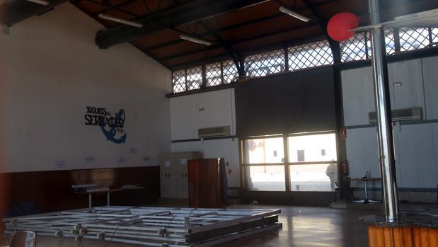 Interior del local en el que han sucedido los hechos