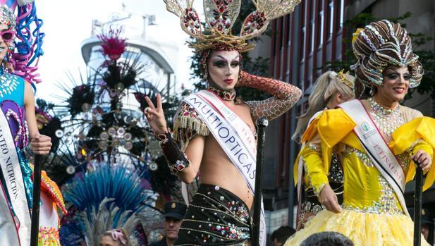 Drag Sethlas este sábado en la cabalgata de carnaval de la capital grancanaria en la