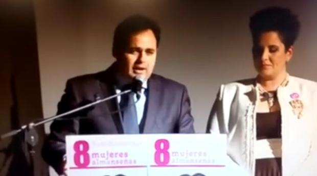 Captura de pantalla del video publicado por el portavoz de la Junta en su Facebook