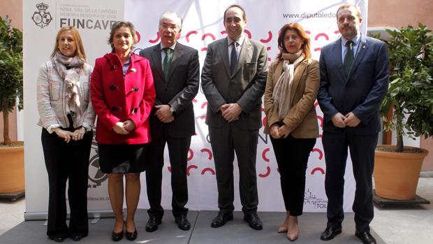 Tofiño, García, Manzaneque, Parra y otros patronos de Funcave