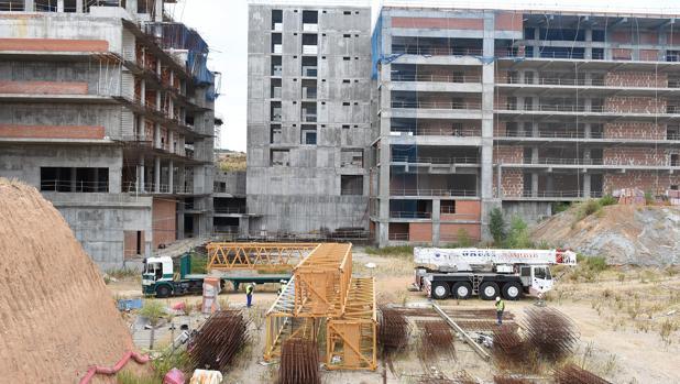 Estado en el que se encuentran las obras del nuevo hospital de Toledo