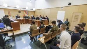 Segunda sesión del juicio oral contra los doce jóvenes arrestados por los altercados de Gamonal