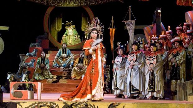 Una de las protagonista de la ópera de Giacomo Puccini, que llega este domingo a Toledo