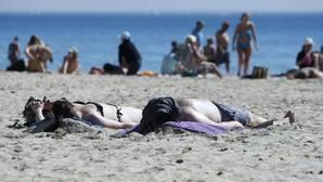 Imagen tomada este viernes en la playa de El Posgtiguet de Alicante