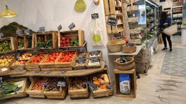 Mama Campo ofrece productos naturales en su restaurante y también para llevar a casa