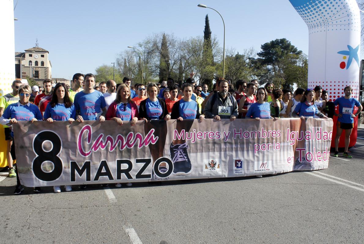 Toledo celebra la IV carrera solidaria «Mujeres y hombres por la ...