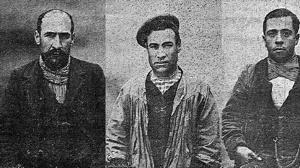 Doble detención del «Pajero»: por homicidio (1905) y por prófugo (1918)