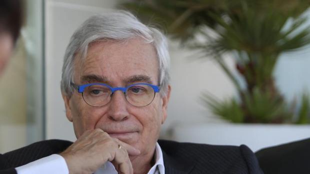 El economista y presidente de «Unidos contra la ELA», Francisco Luzón