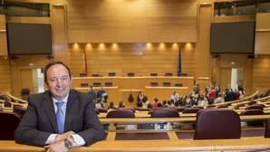 El presidente del PP riojano y expresidente de la comunidad, Pedro Sanz