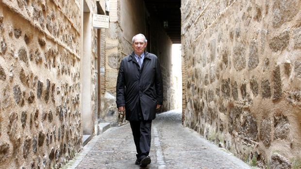 Manuel Santolaya, en los cobertizos de Toledo, lleva al frente del Consorcio desde 2008