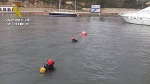 Imagen de las labores de rescate en la provincia de Alicante en la tarde de este lunes