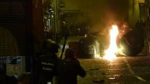 Incidentes del pasado sábado en Pamplona