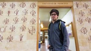 Carlos Fierro, estudiante de Medicina en la Universidad de Salamanca
