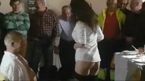 Fiesta de jubilación con «stripper» dentro del Ayuntamiento de Alcalá