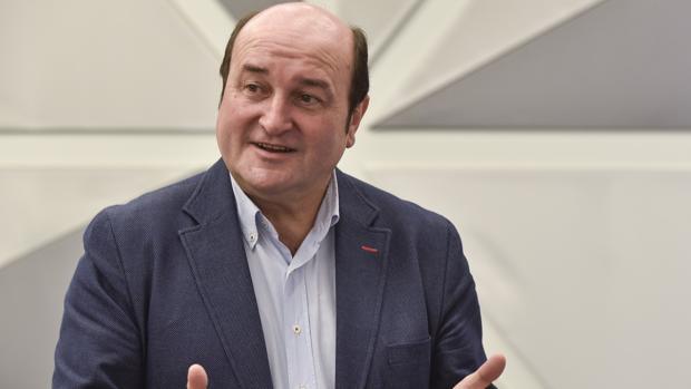 Andoni Ortuzar, presidente de la ejecutiva del PNV
