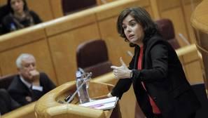 Sáenz de Santamaría: «A ETA la ha derrotado la democracia, la ley y las víctimas»