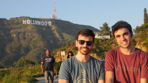 Pablo Conde y Hugo de la Riva ruedan estos días «Supreme» en Hollywood