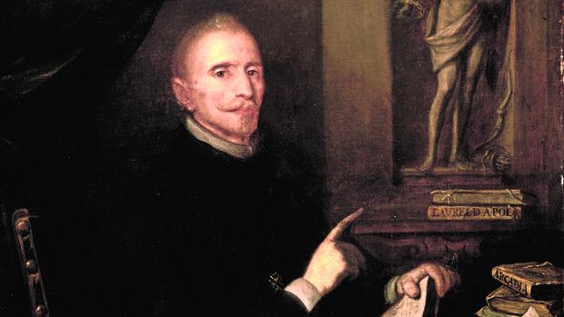 Retrato de Lope de Vega que se exhibe estos días en su Casa Museo