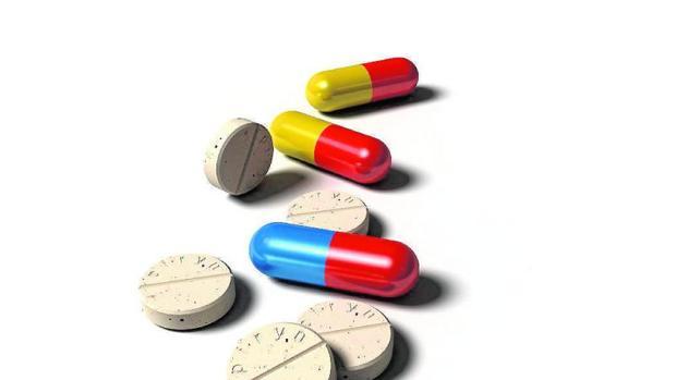 Imagen de archivo de pastillas médicas