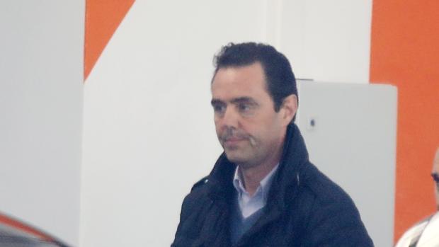 Imagen de Miguel López tomada el día de su detención