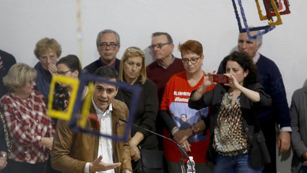 Imagen de la última visita de Pedro Sánchez a Castellón