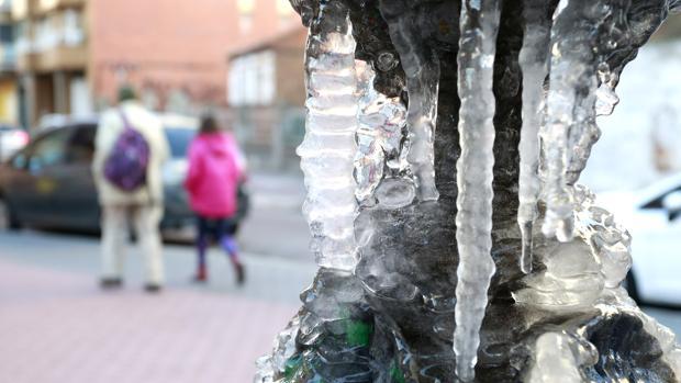 Frío en León