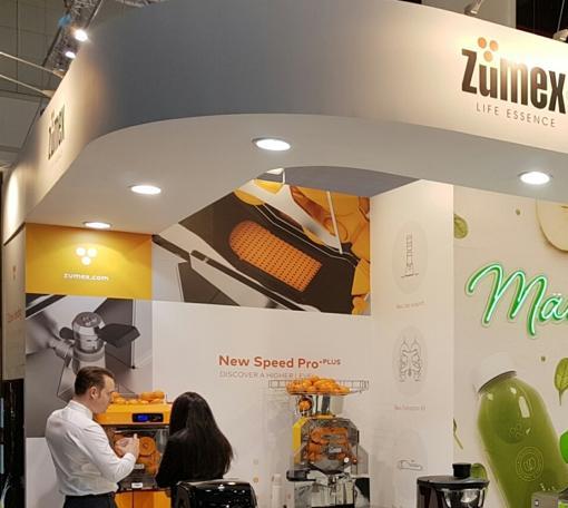 Imagen de la gama de exprimidores de Zumex