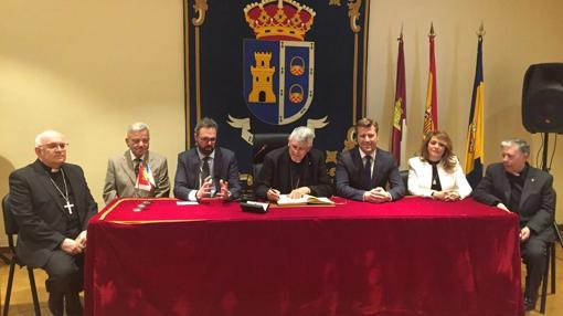 Reunión en el Ayuntamiento de Santa Olalla