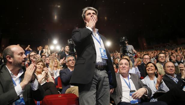 El nuevo secretario general del PP de Madrid, Ángel Garrido